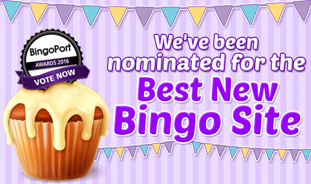 VOTE FOR CUPCAKE BINGO
